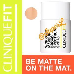 Clinique CliniqueFIT Workout Makeup Broad Spectrum